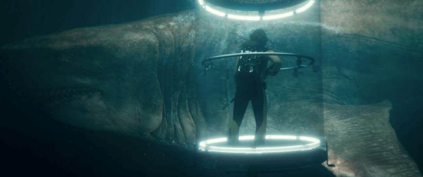 《 巨齒鯊 》(MEG) 大大大鯊魚與玩命大光頭的大戰爭。