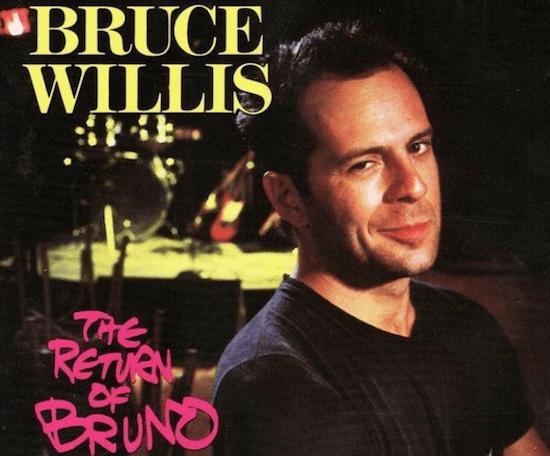布魯斯威利 80 年代曾是發片歌手 :《布魯諾的回歸》(The Return of Bruno)。