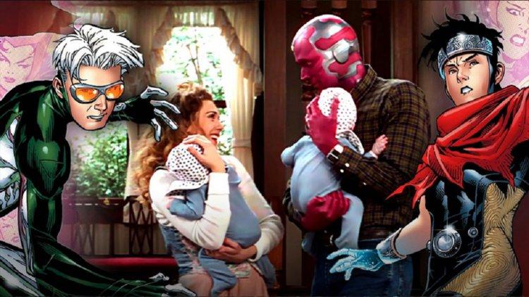 「比利」和「湯米」是什麼來歷?幻視與緋紅女巫的雙胞胎兒子介紹——首圖