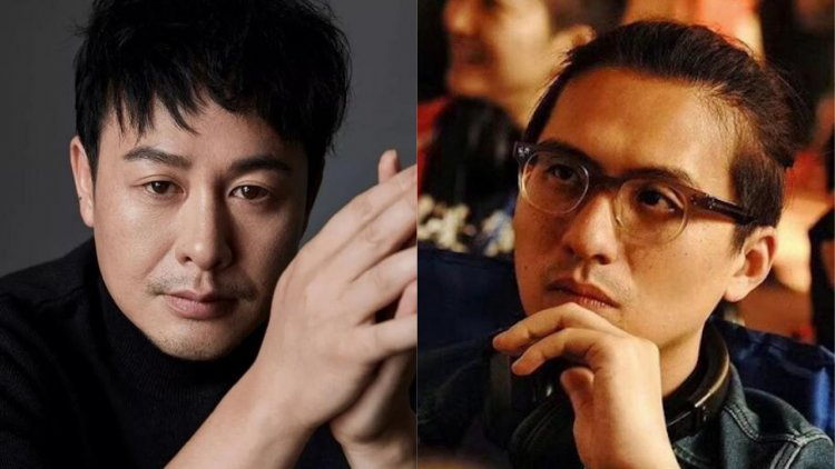 導演徐展雄(右);演員張頌文(左)。