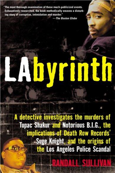 強尼戴普電影《誰殺了大個子》原作小說《迷宮》封面。