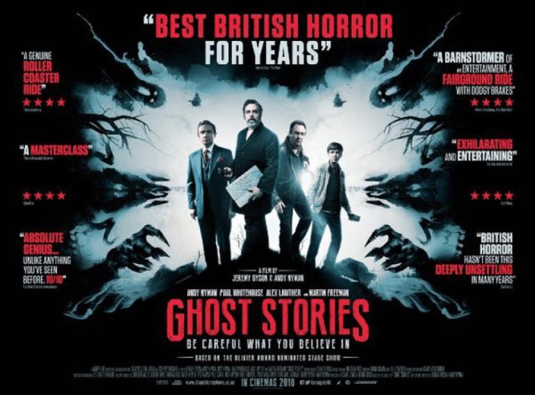 改編自 2000 年同名舞台劇的2017 年恐怖片《鬼故事》。