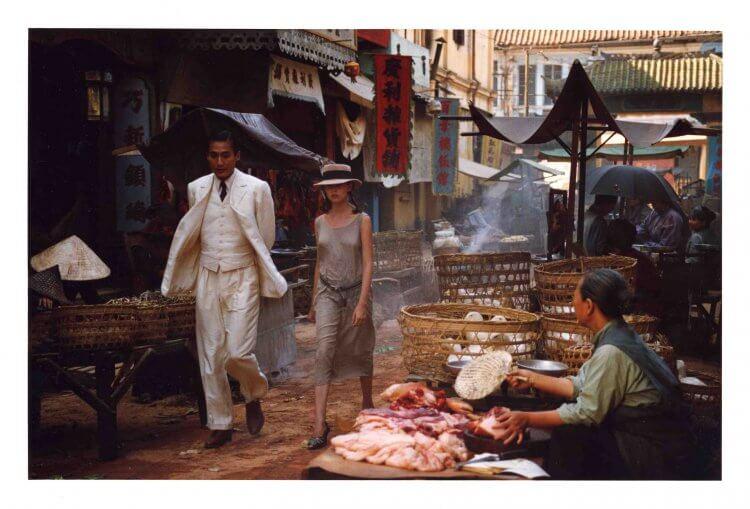 法國小說改編電影《情人》劇照。