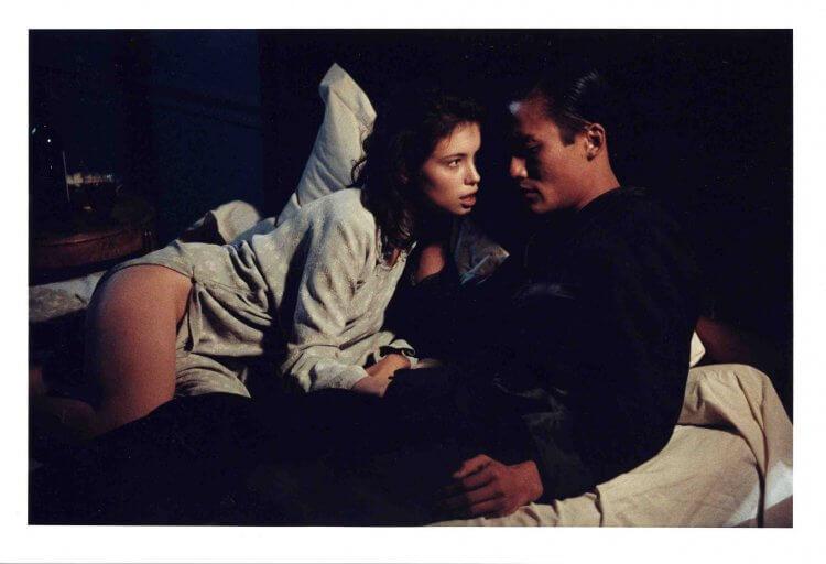 法國小說改編電影《情人》珍瑪琪劇照。