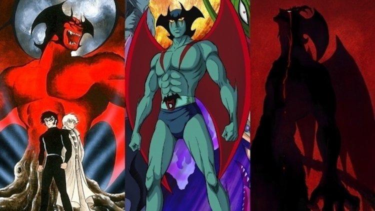 由左至右分別為漫畫、TV版、新版改編