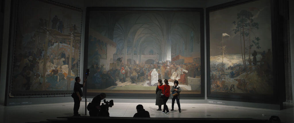 《 慕夏壯麗藝術祭 》是一部關於新藝術大師阿豐斯慕夏(Alfons Mucha)的公路電影