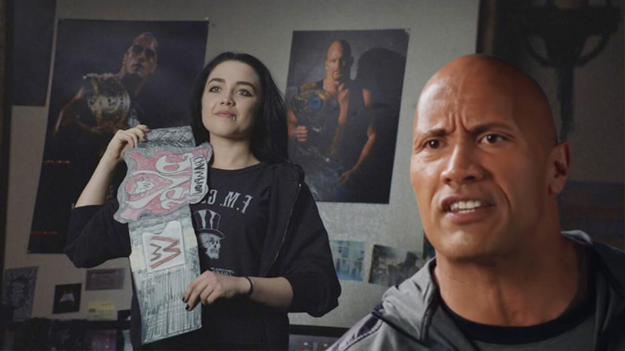 巨石強森在《我和我的摔角家庭》技癢親傳如何用頭塞爆對手菊花!?首圖