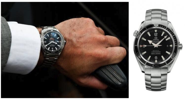 丹尼爾克雷格在《007:量子危機》電影中飾演的詹姆士龐德,依然配戴 OMEGA 海馬 Planet Ocean 600 米系列腕錶,但設計更加洗鍊。