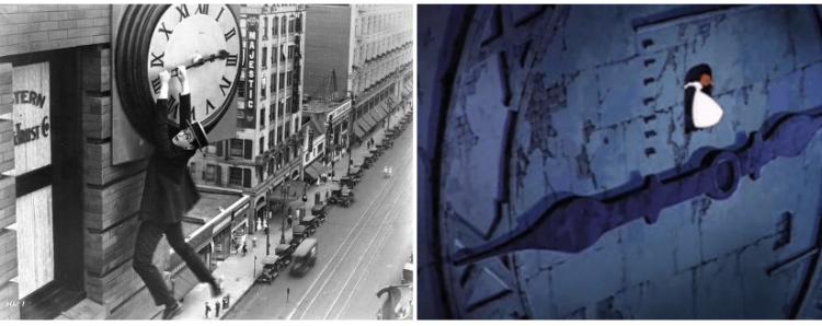 好萊塢的電影替身:《安全至下!》的那個年代,一切都是真的(好危險);日後作品也多少有致敬此幕的呈現。