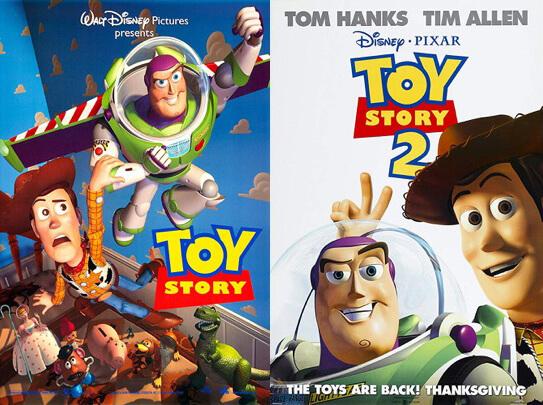 《玩具總動員》在 1995 年上映之後獲得大成功,並許多影評稱讚為有史以來最好的動畫電影之一,而在 1999 年推出的續集也不遑多讓,上映後大獲好評。