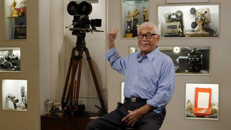 攝影師林贊庭榮獲第 58 屆金馬獎「終身成就獎」。