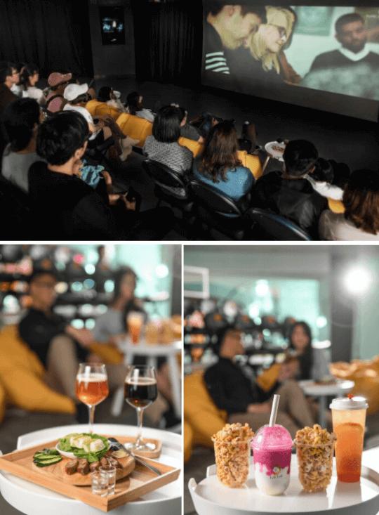 新加坡喜劇電影《媽哩媽哩烘》101 觀影活動示意圖。 (1)