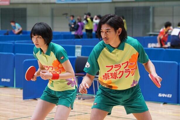 新垣結衣、瑛太等日劇日影卡司共演的桌球電影《乒乓少女大逆襲》