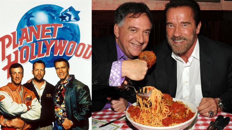 你還記得嗎?28 年前,到史特龍、阿諾與布魯斯威利的「好萊塢星球餐廳」就能吃到一口滿滿的動作天王味道