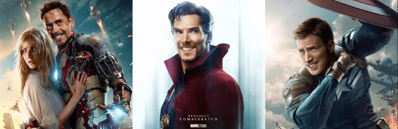 針對網友「驚奇隊長都不笑」的發言,布麗拉森以露齒微笑的眾英雄改圖俏皮回應。