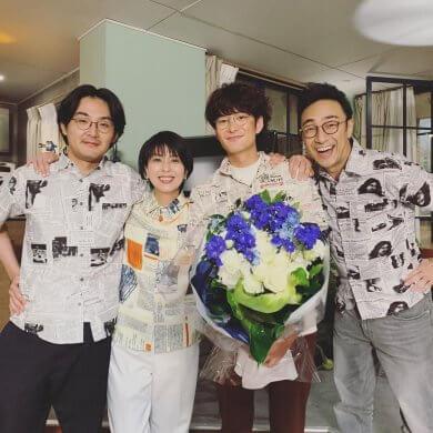 於日劇《大豆田永久子與三個前夫》共演的松田龍平、松隆子、岡田將生、角田晃廣