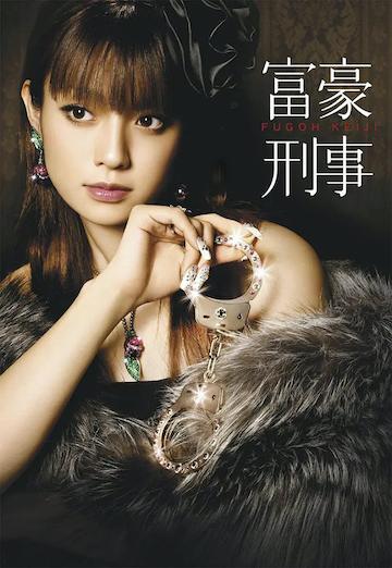 日劇版《富豪刑事》官方海報。