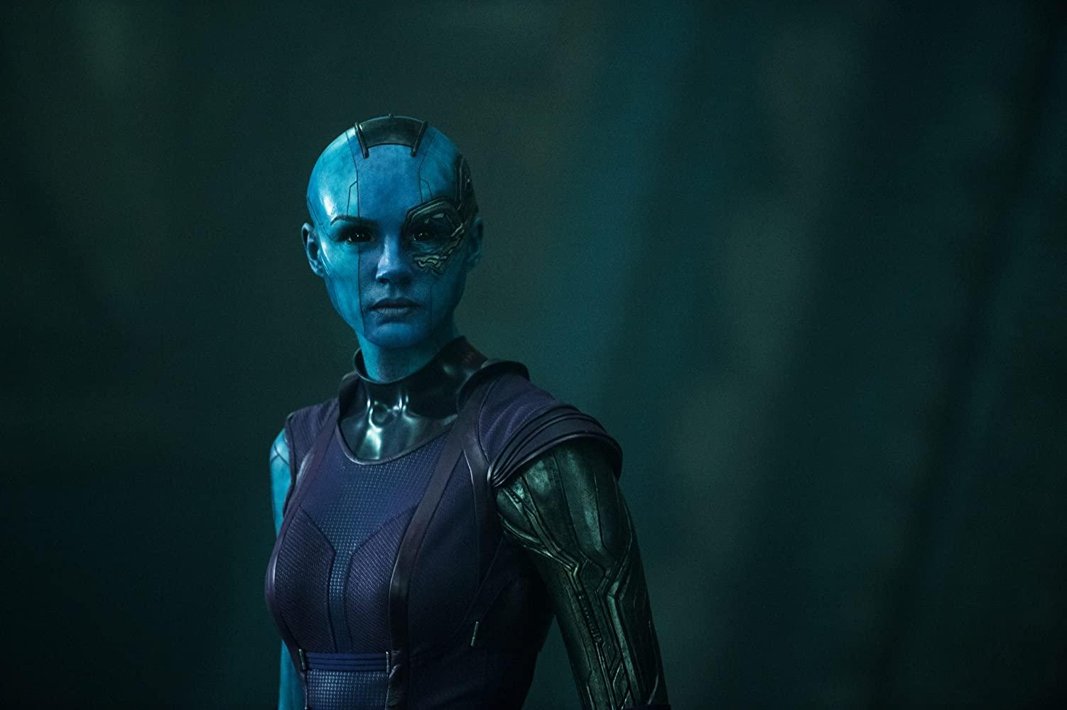 凱倫吉蘭飾演《星際異攻隊》涅布拉一角。