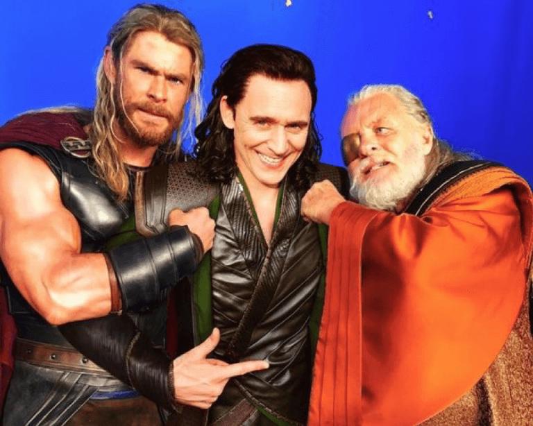 《雷神索爾3:諸神黃昏》(Thor: Ragnarok) 幕後花絮照。