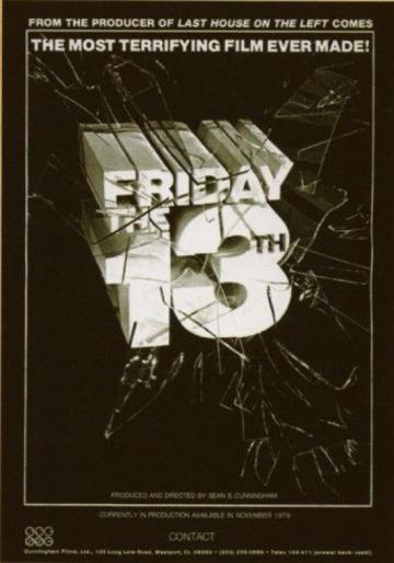 《 13號星期五 》用滿版廣告宣稱它是有史以來最恐怖的電影。
