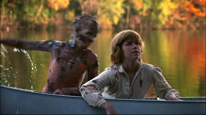 殺人魔傑森 在《 13號星期五 》系列的奮力一跳 : 就是要嚇的你措手不及。