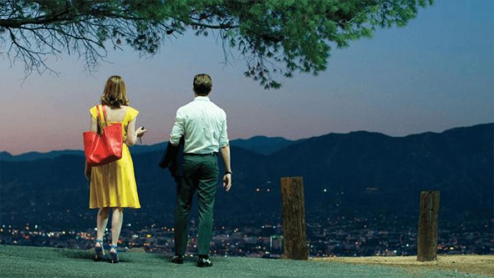 雷恩葛斯林 艾瑪史東 《 樂來樂愛你 》 劇照 。