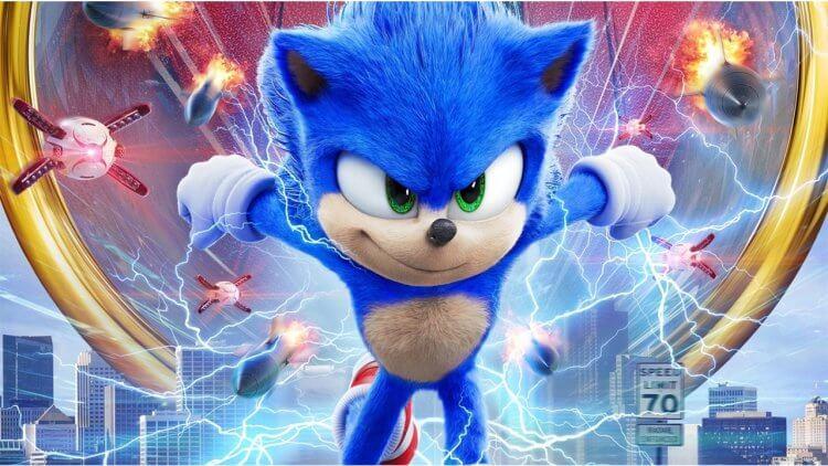 充滿超能量的藍色小球來了!《音速小子》預告飆速登場!首圖