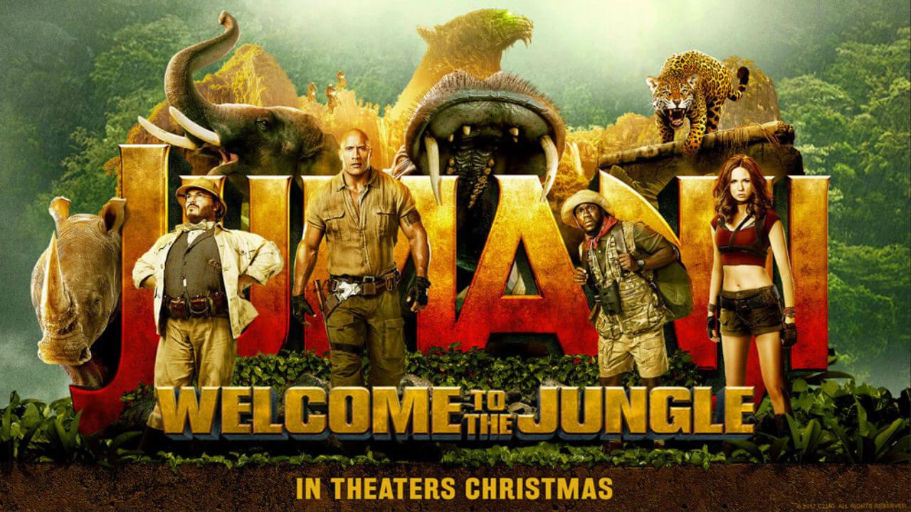 【影評】《野蠻遊戲:瘋狂叢林》(Jumanji: Welcome to the Jungle):瘋狂不夠徹底的一場電玩冒險首圖
