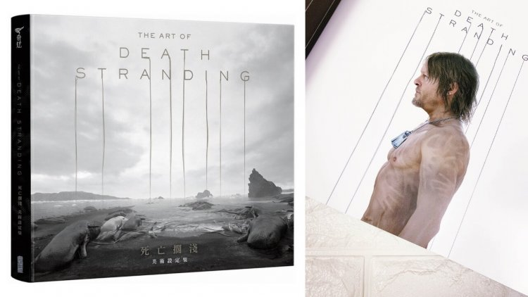 小島秀夫之《死亡擱淺》遊戲美術設定集上市,開若爾金屬主題裝幀,一探山姆、BB 圓艙等數百幅驚人概念世界首圖