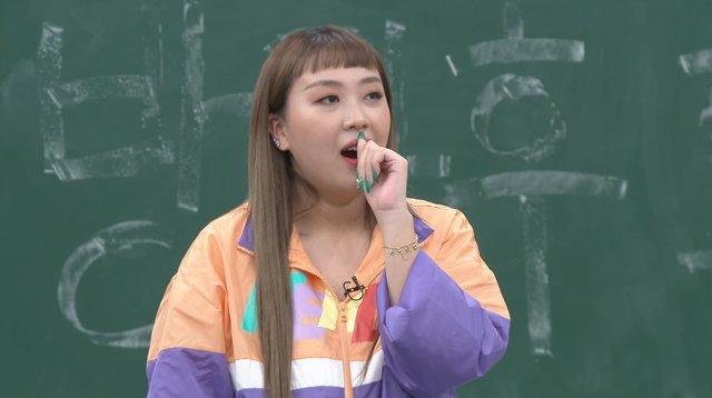 韓國知名高中女Rapper李泳知