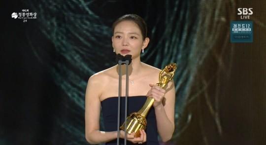 李絮以《菜英文沒在怕》拿下最佳女配角獎