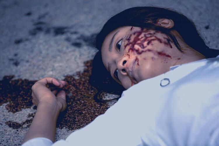 以真實廢棄醫院為背景的台片《杏林醫院》劇照。