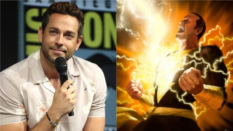 DC 超級英雄電影《沙贊 2》看的到柴克萊威 PK 巨石強森 aka 黑亞當嗎?柴克萊威:再等等嘛首圖