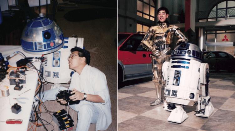 格蘭今原,喜歡機器人的他,在星戰系列電影你不一定會注意到的地方發揮過所長。