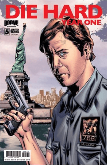 終極警探 前傳漫畫《 終極警探:第一年 》:你好,我是 麥克連 警察。