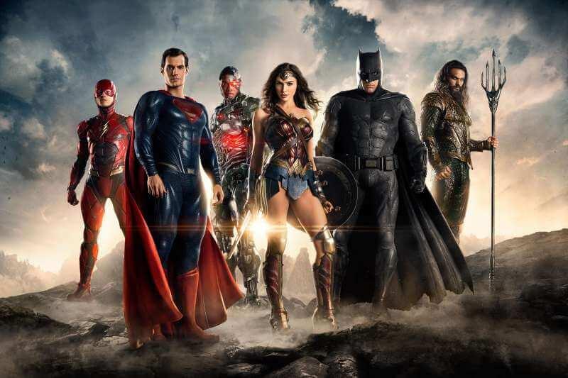 DC 超級英雄電影。