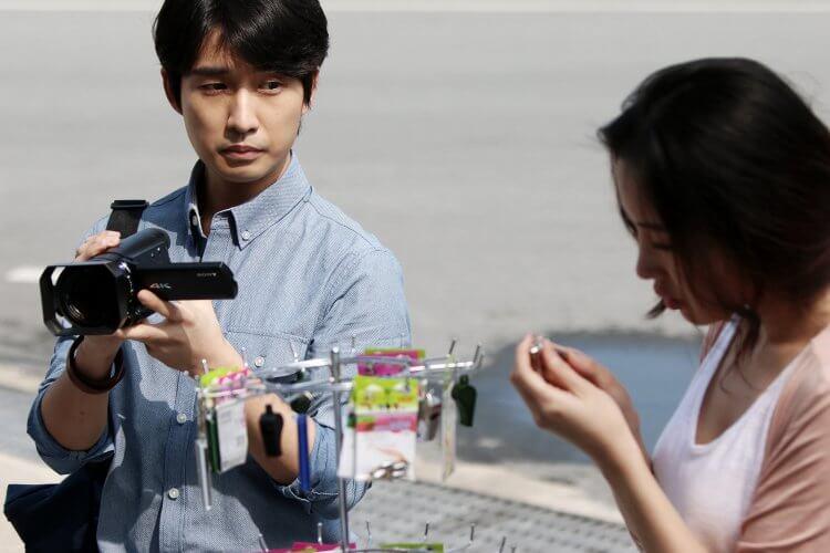 韓國電影 《殘酷街頭:暴力實錄》劇照。