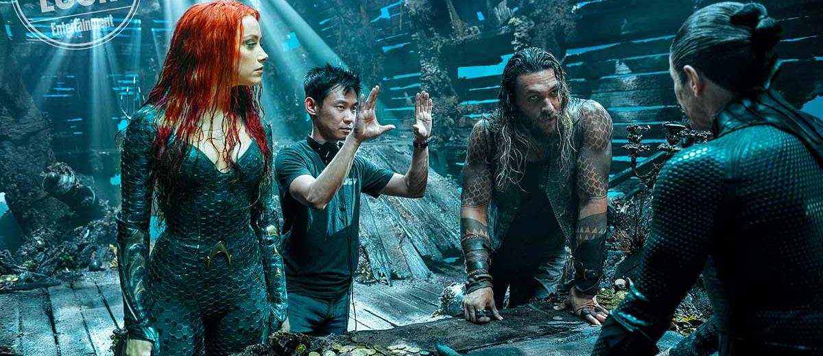 《 水行俠 》拍攝現場,粉絲對於將會看到怎樣的視覺特效呈現感到萬分期待。