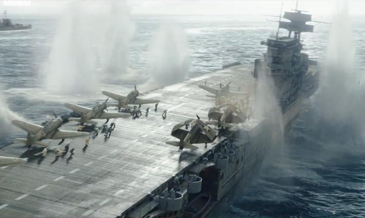 二戰經典戰役史實電影 《決戰中途島》(Midway)中文版預告片公開及主要角色介紹首圖