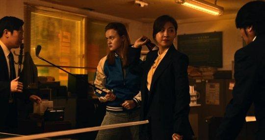河智苑在《Dramaworld 2》中將有不少精彩動作戲