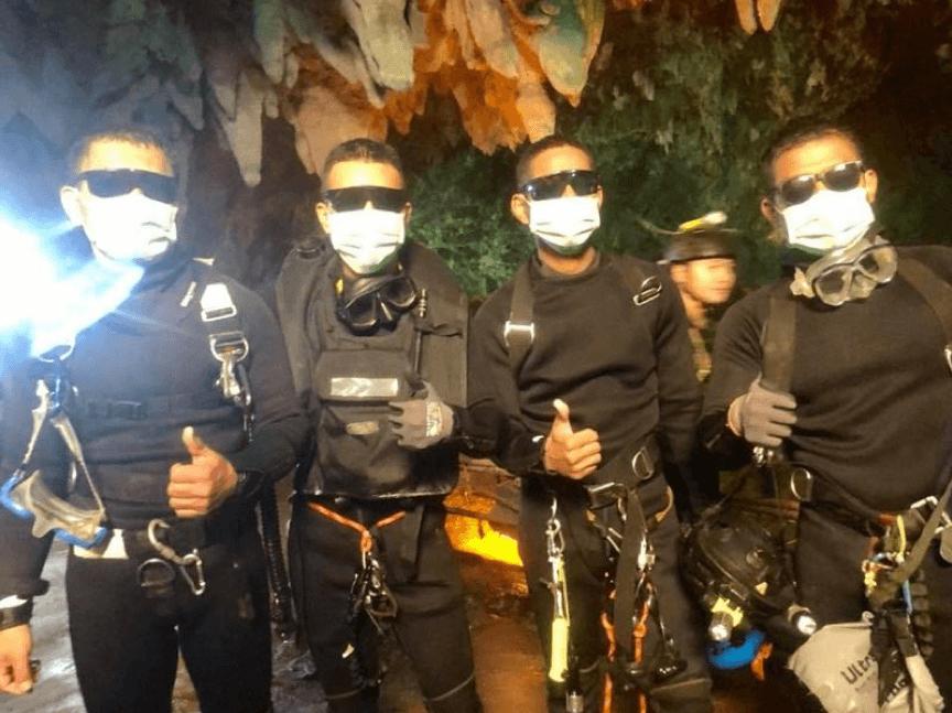 神救援、秒改編?泰國洞穴救援事件要被改編成電影了?