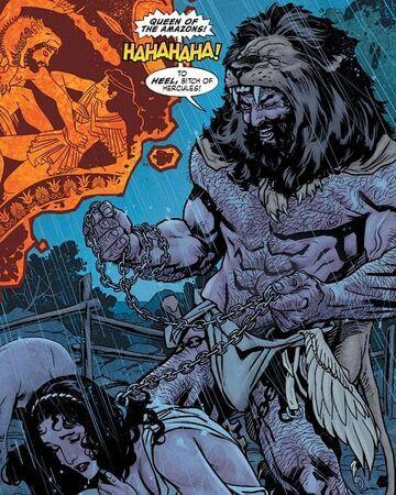 DC 漫畫中,海力克士來到天堂島奴役了亞馬遜人。