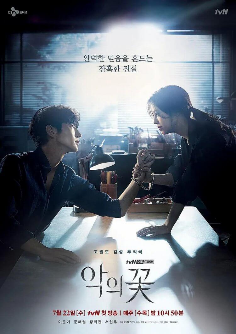 韓劇《惡之花》海報C款:智媛將揭發賢秀的真面目?