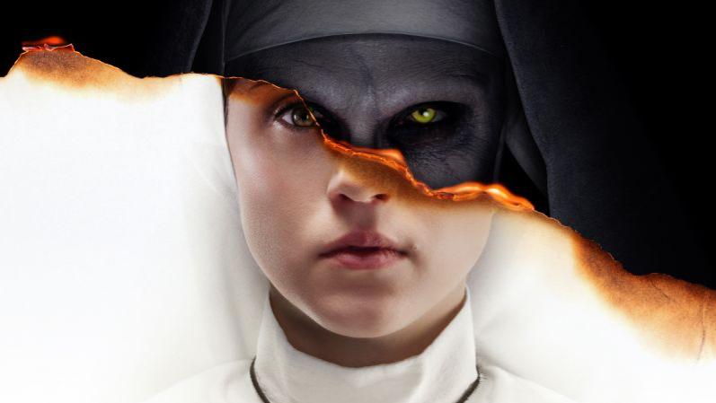 溫子仁 拍攝的《 鬼修女 》 電影海報