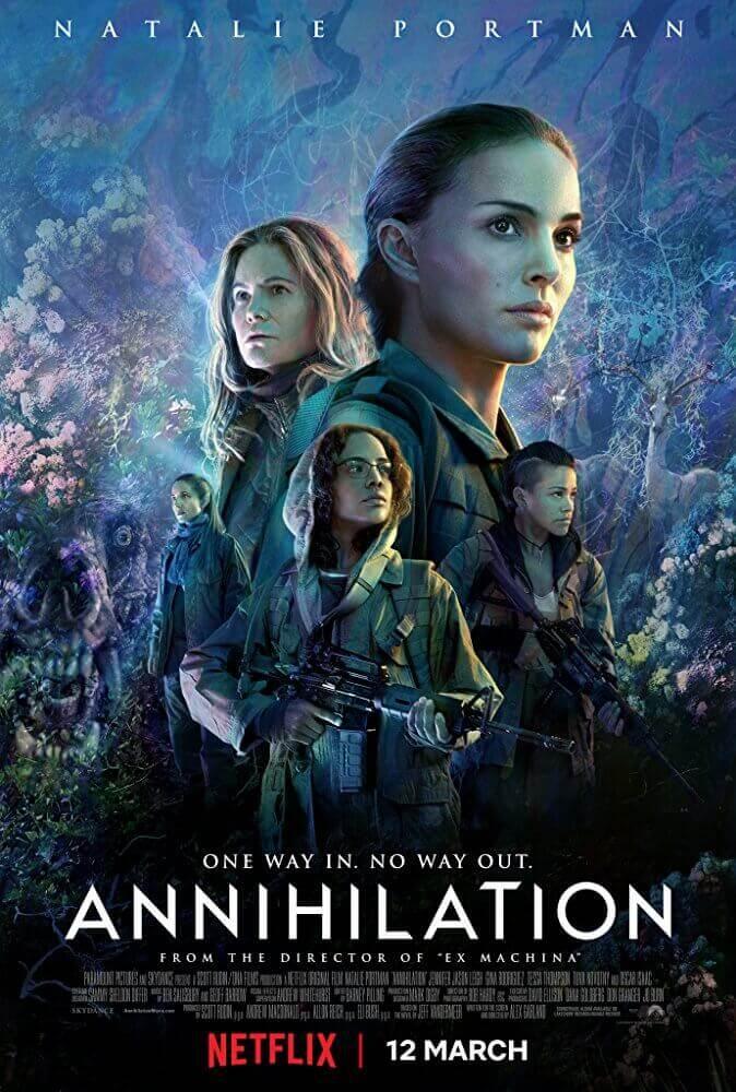 科幻 電影 滅絕 Annihilation Netflix 海報1