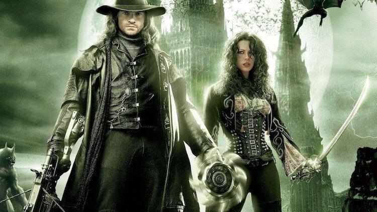 休傑克曼主演 2004 年電影《凡赫辛》宣傳照。