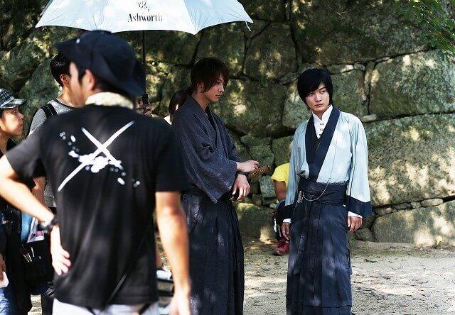 演出《神劍闖江湖》系列電影「宗次郎」的神木隆之介