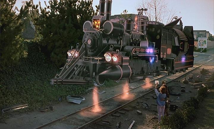 《 回到未來3 》 劇照 。