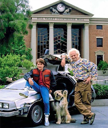 Back to the Future FOREVER.