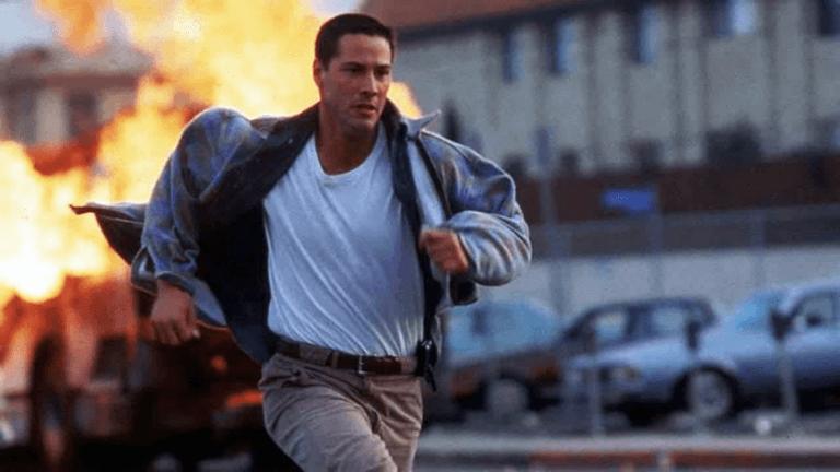 1994 年由「基哥」基努里維主演的《捍衛戰警》(Speed) 。